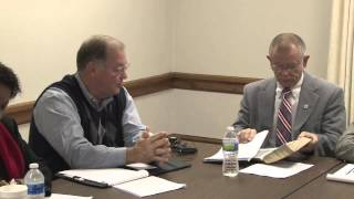 Meeting between school board, commission chairman doesn't go well