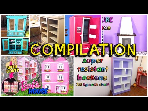 5 awesome crafts with carton boxes simple compilation DIY