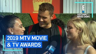Colton Underwood & Cassie Randolph Dish Dating Advice | E! Red Carpet & Award Shows