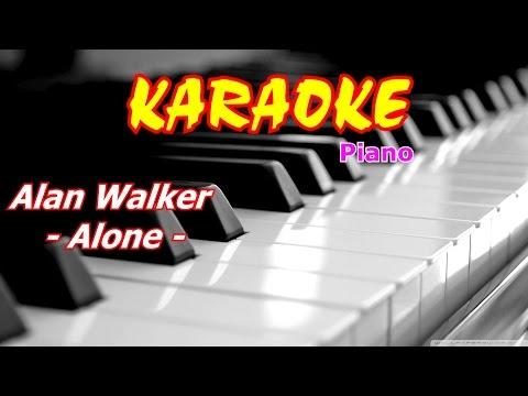 Alan Walker - Alone Karaoke Piano beat