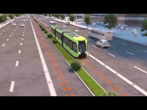 China to Reveal Its Autonomous Bus/Train Hybrid in 2018