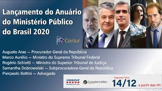 Lançamento do Anuário do Ministério Público do Brasil 2020