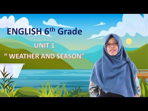 """Video Pembelajaran Bahasa Inggris Kelas 6 Materi """"Vocabularies Of…"""
