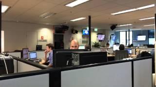 News.com.au office time-lapse (iOS 8 beta)