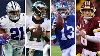 """NFC East Highlights ᴴᴰ """"The Division to beat"""" Eagles, Redskins, Cowboys, Giants"""