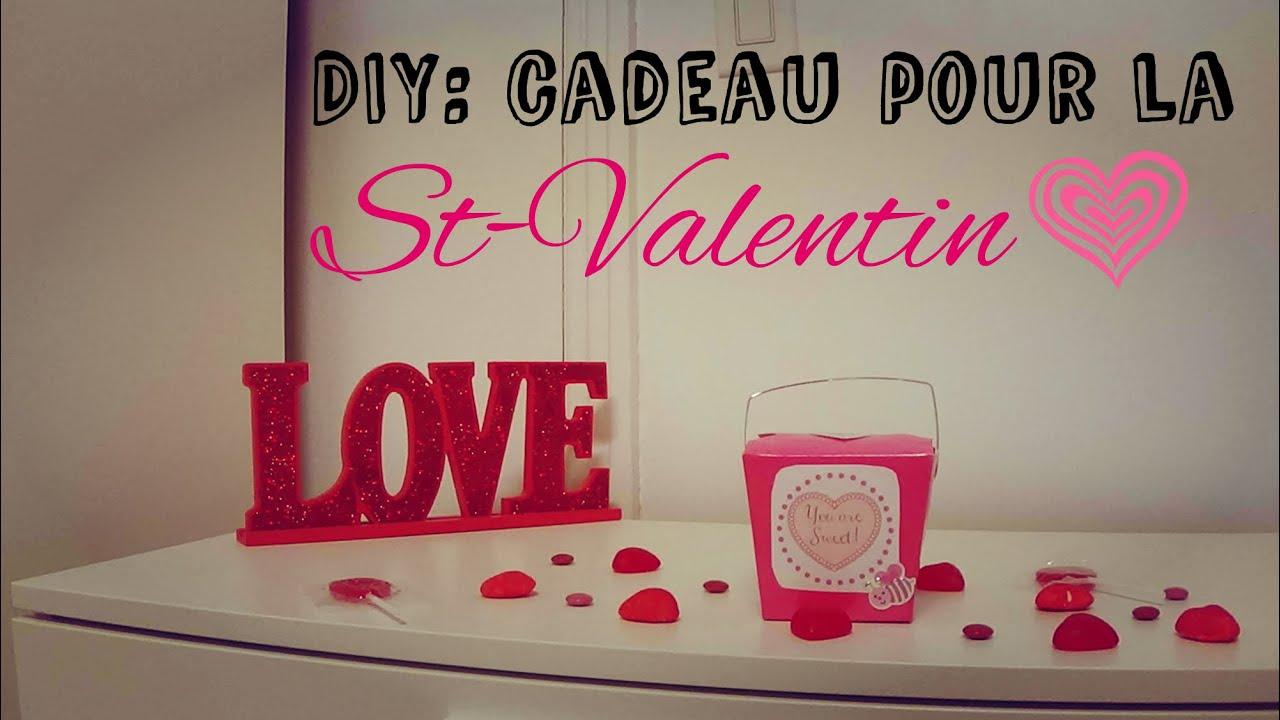 Diy cadeau pour la st valentin youtube - Fabriquer un cadeau de saint valentin ...