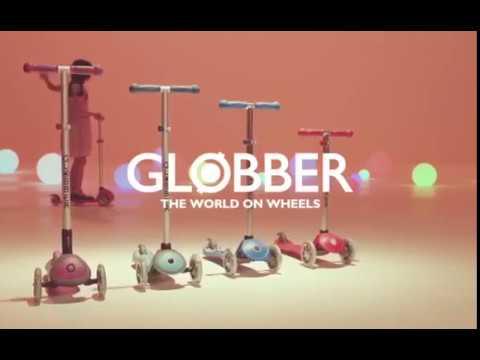 Трёхколёсные самокаты Globber Elite и Globber Primo
