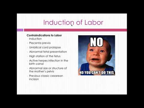 OB 211-Intrapartum Complications and Therapeutic Procedures