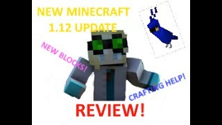 MINECRAFT PC 1.12 COOL UPDATE! New crafting, parrots, and MORE!
