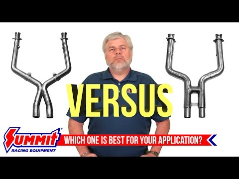 Exhaust H Pipes vs. X Pipes What You Need to Know