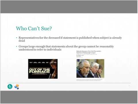 What Is Defamation? Legal Issues and Insurance Protection for Authors