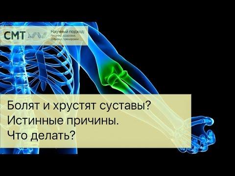 Причины болей и хруста в суставах