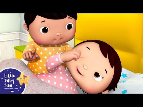 Cantec nou: Ten Babies in The Bed V4 | Ten in The Bed | Nursery Rhymes & Kids Songs | Little Baby Bum