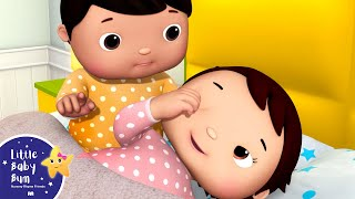 Ten Babies in The Bed V4 | Ten in The Bed | Nursery Rhymes & Kids Songs | Learn with Little Baby Bum
