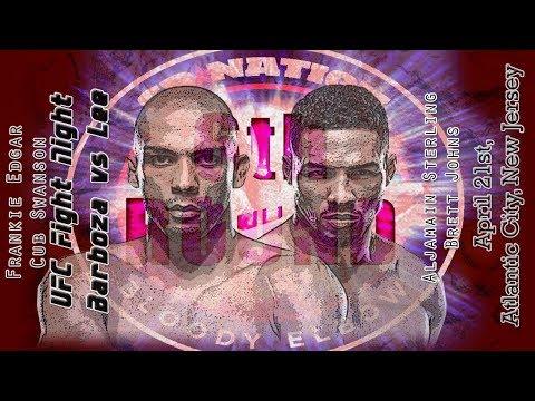 UFC Fight Night: Barboza vs. Lee 6th Round post-fight show