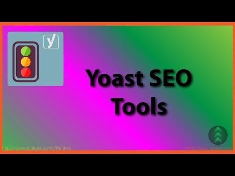 Yoast SEO Plugin Tools - 동영상