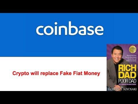 Crypto Blood Bath - Coinbase Adds Instant Trading & 25K Daily Limit - Robert Kiyosaki on Crypto