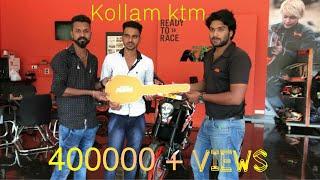 Taking The Delivery Of JOJI'S  2k17 New KTM DUKE 200