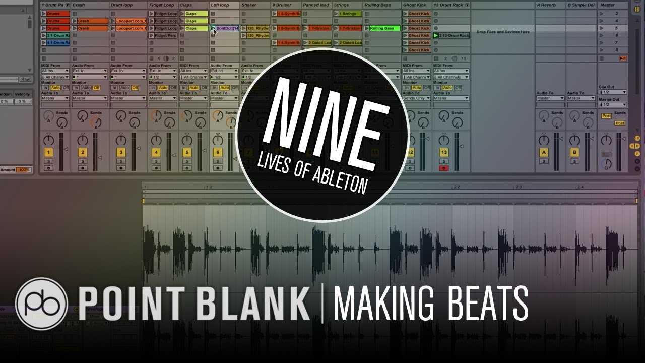 how to make beats in ableton live 9