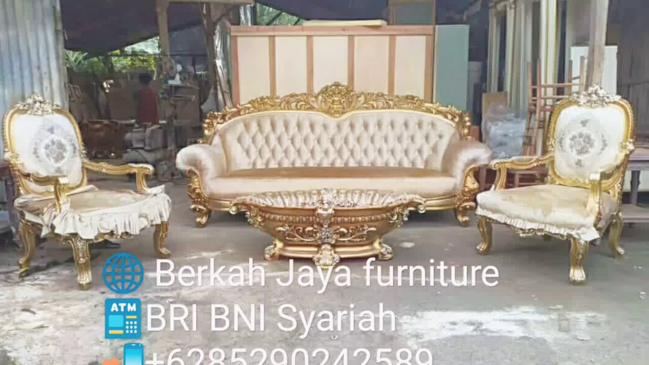 Berkah Jaya Furniture Sofa Tamu Mewah 2019 Youtube