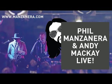 Phil Manzanera - In Conversation with Andy Mackay