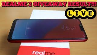 RealMe 2 GIVEAWAY RESULT LIVE | next is RealMe 2 Pro