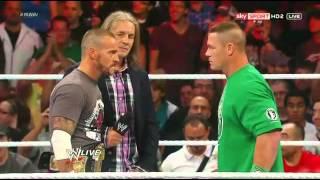 John Cena parle francais dans le ring thumbnail