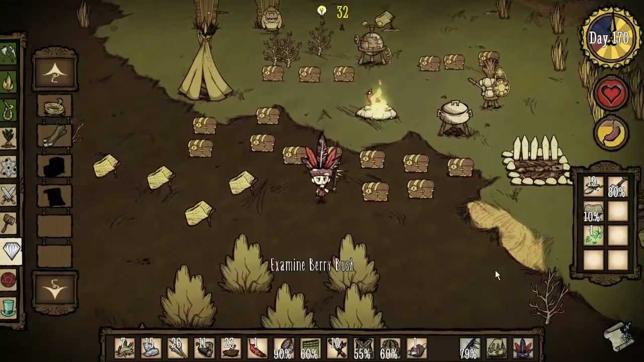 Let's Play Don't Starve 'E' 64 Fireflies - YouTube