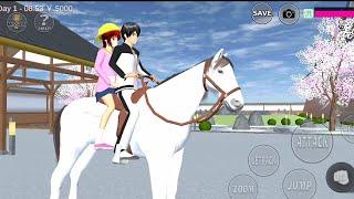😂 Drama 😂 Kenji ajak Ayumi Liburan naik kuda 😂 kudanya Lepas 😂 Oyanio Tv❤️
