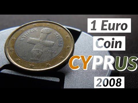 1 Euro Coin 2008-2018 Cyprus