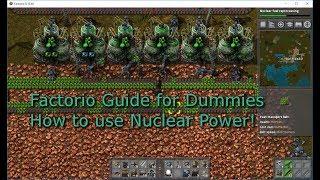 Factorio - Guide for Dummies - كيفية إنشاء الأساسية للطاقة النووية دليل الإعداد, الطرد المركزي, سهلة