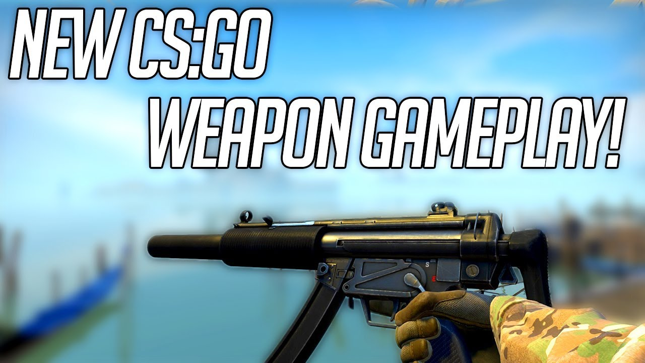 CS:GO New Weapon! MP5-SD footage (spray pattern, inspect, reload etc)