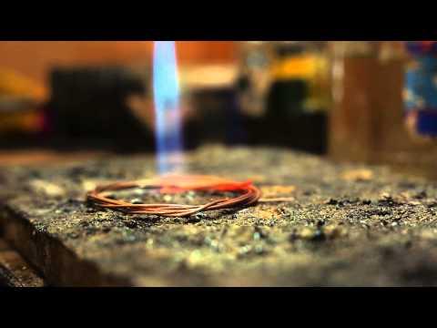 Сделано в Кузбассе HD: Изготовление браслета из золота