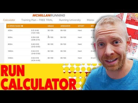 How to Calculate Exact Running Paces for your triathlon training plan