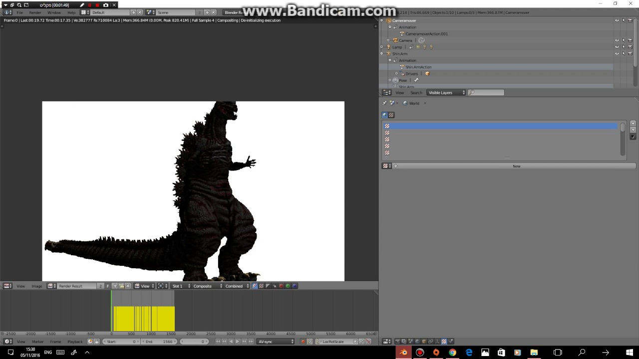 Rigging Shin Godzilla - YouTube