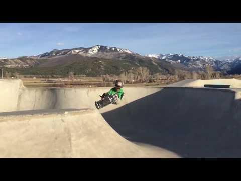 Ollie Graves 7 years old 360 Indy Grab