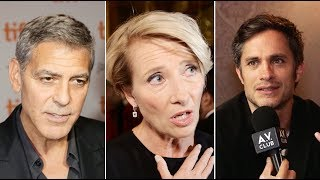 George Clooney, Emma Thompson, and other TIFF stars tell us their favorite movie?
