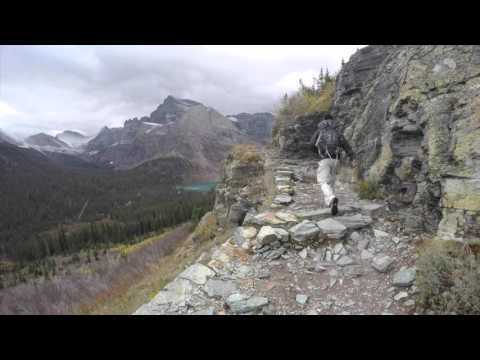 Glacier National Park Montana - A travel video many glacier 2015 fall break