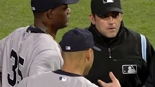 New York Yankees General Manager Brian Cashman On Michael Pinedas Ejection Against The R