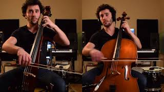 cello (violoncelle) Yamaha SVC 210 version Baroque avec Mathieu