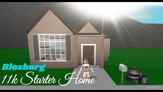 ROBLOX | Welcome to Bloxburg: 11k Starter Home Speedbuild