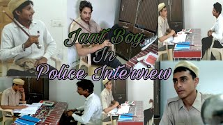 Jaat Boy In Police Interview || Desi Comedy || Gold Vines Entertainment