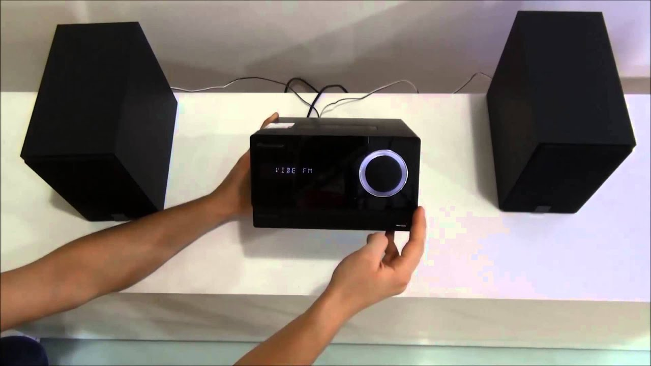 Microsistem audio PIONEER X-CM31-K - YouTube