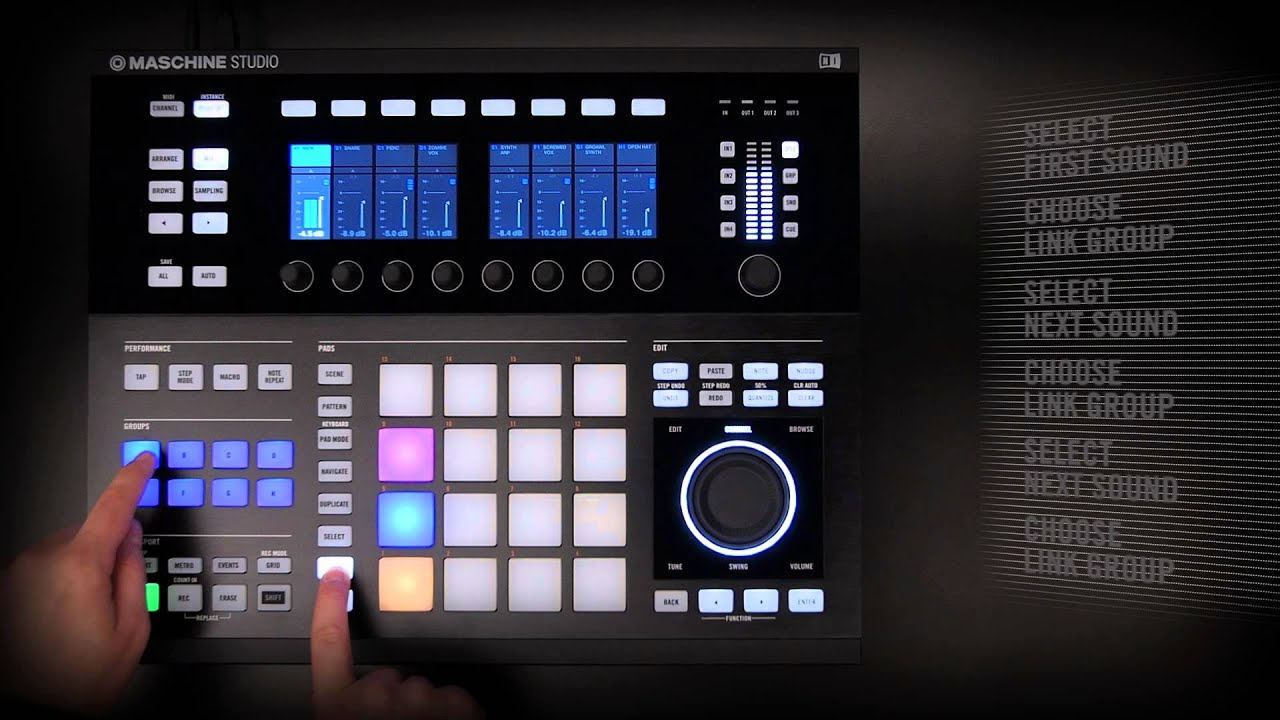 maschine trutorials pad link power native instruments youtube