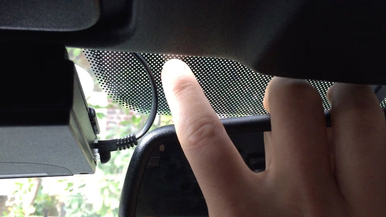 Do Windshield Tint Strips or Dots (Frits) Affect a Radar Detector's  Performance?