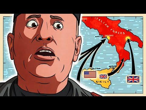 Downfall of Italy: 1943 (1/2) | Animated History