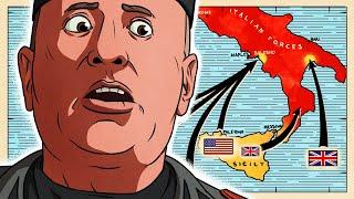 Downfall of Italy: 1943 (1/2)   Animated History