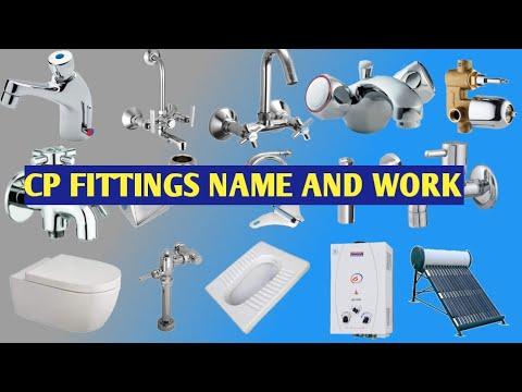 प्लम्बर सीपी फिटिंग नाम और यूज/ PLUMBER CP FITTINGS NAME AND WORK