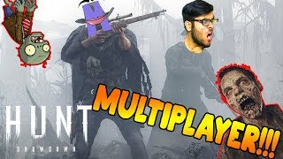 SCARIEST ZOMBIE HORROR GAME EVER - Hunt Showdown (Funny Moments Hindi)