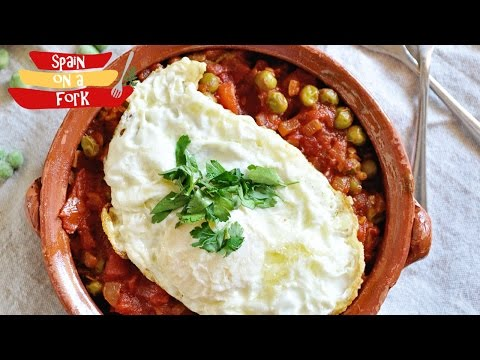 Flamenco Styled Eggs - Huevos a la Flamenca
